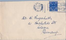 1934 , IRLANDA , SOBRE CIRCULADO  ( DUBLIN ) BAILE ATHA CLIATH - COLONIA - 1922-37 Estado Libre Irlandés