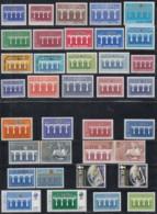 EUROPA CEPT  Jahrgang 1984, Postfrisch **, Komplett 69 Marken, 25 Jahre CEPT, Brücke - Europa-CEPT