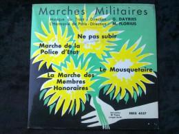 Dayries & Florius: Marches Militaires: Ne Pas Subir.../45 Tours Egex 4527 - Vinyl Records