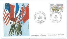 Enveloppe 1er Jour France FDC Liberation Du Territoire 1994 - FDC