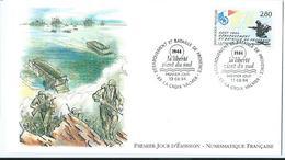 Enveloppe 1er Jour France FDC Debarquement En Normandie 1994 - FDC
