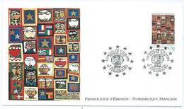 Enveloppe 1er Jour France FDC Conseil De L'europe 1994 - FDC