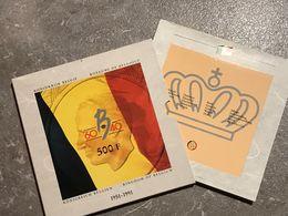 M/PS6 3 X 500 Francs ARGENT FLAN BRUNI 1991 FR + FL + ALLEMAND 40° Anniversaire Règne Du Roi Baudouin - 1951-1993: Baudouin I