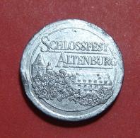 GERMANY VEREINSBANK SCHLOSSFEST ALTENBURG TOKEN, 22.5 Mm. - Professionnels/De Société