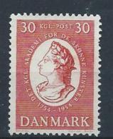 Danemark 1954 N° 352 Neuf ** MNH Académie Des Beaux Arts - Danemark
