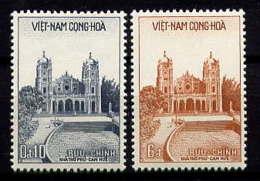 VNS - 102/103** - CATHEDRALE DU PHU CAM A HUE - Viêt-Nam