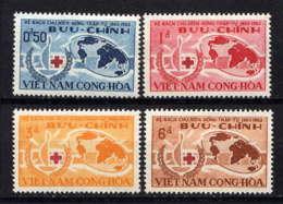 VNS - 222/225** - CENTENAIRE DE LA CROIX ROUGE - Viêt-Nam