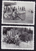 MEN MAN Muscular Athlete Boy Boys 2 Photos Gay 9 X 6 Cm (see Sales Conditions) - Personnes Anonymes
