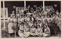 SCOUT : SCOUTISME En ROUMANIE / GIRLS SCOUTS In ROMANIA - 1935 : BREAZA - CARTE VRAIE PHOTO / REAL PHOTO - RRR (aa516) - Scoutisme