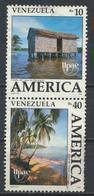 °°° VENEZUELA - Y&T N°1510/11 - 1990 °°° - Venezuela