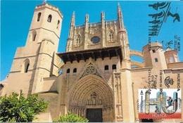 SPAIN. MAXICARD FIRST DAY. HUESCA CATHEDRAL. 2019 - Tarjetas Máxima