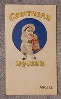 Rare Et Ancien Calendrier De Poche 1925 Cointreau Liqueur Angers - Petit Format : 1921-40