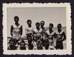 MEN MAN Muscular Athlete Boy Boys Photo Gay 9 X 6 Cm (see Sales Conditions) - Personnes Anonymes