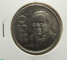 Mexico 50 Pesos 1988 Varnished - México