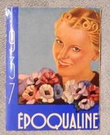 Rare Et Ancien Calendrier De Poche 1937 Jeune Femme Art Déco Époqualine Santé Femme Pharmacie Médicament Fève De Fuca - Petit Format : 1921-40