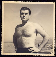 HAIRY MEN MAN Muscular Athlete Boy Boys Photo Gay 13 X 13 Cm Jeune Homme (see Sales Conditions) - Personnes Anonymes