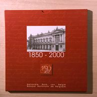 """M/MS25 BELGIQUE Série """"Fleur De Coin"""" FDC 2000 (FR+FL) 150 Ans De La Banque Nationale De Belgique - 1993-...: Albert II"""