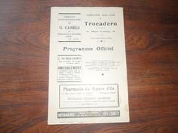 ANCIEN PROGRAMME / THEATRE WALLON DU TROCADERO / 27ième  ANNEE / 1943 - Programmes
