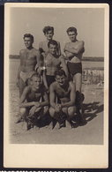 MEN MAN Muscular Athlete Boy Boys Gay RPPC (see Sales Conditions) - Personnes Anonymes