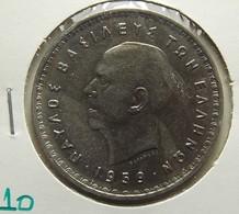Greece 10 Drachmai 1959 Varnished - Grèce