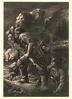 """CPM* N°1972 - MUNCHEN - HAUS DER DEUTSCHEN KUNST - WILL TSCHECH - """"GRENADIERE"""" - War 1939-45"""
