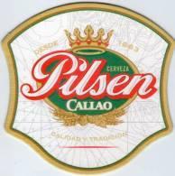Lote P97, Peru, Posavaso, Coaster, Pilsen Callao, Irregular - Portavasos