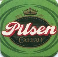 Lote P99, Peru, Posavaso, Coaster, Pilsen Callao, La Cerveza Mas Cerveza - Portavasos