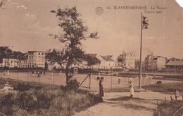 BLANKENBERGHUE. LE TENNIS. ALBERT. VOYAGEE YEAR 1929 - BLEUP - Blankenberge
