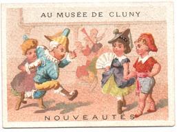 Chromo Au Musée De Cluny. Les Fetes En Masque, Carnaval, Polichinelle. Pulcinella. Testu Massin 32-52/3 - Autres