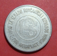 YUGOSLAVIA ND 1970 - 1990 POSTANSKA STEDIONICA MEGAPLAST NBJ B TOKEN, 27 Mm. - Tokens & Medals