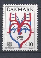 Danemark 1988 N°922 Neuf ** OMS - Danemark
