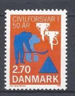 Danemark 1988 N°923 Neuf ** Défense Civile - Danemark