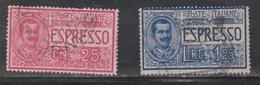 ITALY Scott # E1, E5 Used - 1900-44 Vittorio Emanuele III