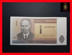 ESTONIA 1 Kroon 1992  P. 69  UNC - Estonia