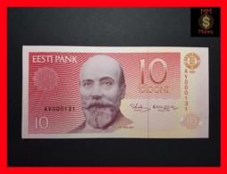 ESTONIA 10 Krooni 1991  P. 72 A UNC  LOW SERIAL - Estonie