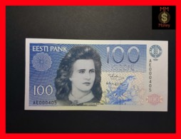 ESTONIA 100 Krooni 1991  P. 74 A   UNC  LOW SERIAL - Estonie