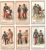 6 Chromos, Victorian Trade Cards. Petites Scènes Amusantes. Scenette Divertenti. TM Champenois 36-35 - Autres