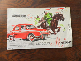 ANCIEN BUVARD / PUB / CHOCOLAT MENIER - Papeterie