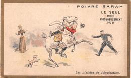 Chromo, Trade Card. Petites Scènes Amusantes, Les Plaisirs De L'équitation. Scenette Divertenti. TM Champenois 36-35/78 - Autres