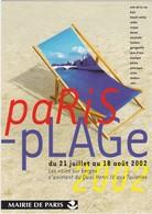 D908 PARIS PLAGE - MAIRIE DE PARIS - ANIMATION DU QUAI HENRI IV AUX TUILERIES - Evénements