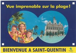 D909 SAINT QUENTIN - LA PLAGE DE L'HÔTEL DE VILLE - Autres
