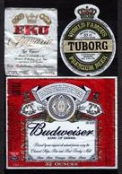 Beer.13 Used Labels. - Birra