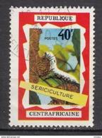 République Centrafricaine, Sericiculture, Textile, Ver à Soir, Silk Caterpillar, Insecte, Papillon, Butterfly - Textile