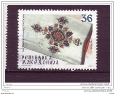Macédoine, Macedonia, Textile, Broderie - Textile
