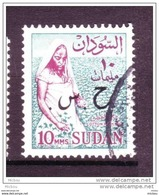 Soudan, Sudan, Femme, Coton, Cotton, Textile, Woman, Surimpression, Overprint - Textile
