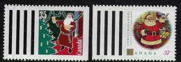 CANADA 1991,1992 CHRISTMAS SCOTT 1342**,1345** - 1952-.... Elizabeth II