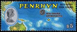 Penrhyn Island 1975 Kia Ora Astronauts Unmounted Mint. - Penrhyn