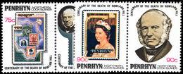 Penrhyn Island 1979 Rowland Hill Unmounted Mint. - Penrhyn