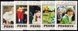 Penrhyn Island 1982 Birthday Of Princess Of Wales Unmounted Mint. - Penrhyn