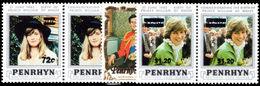 Penrhyn Island 1983 Provisional Set Unmounted Mint. - Penrhyn